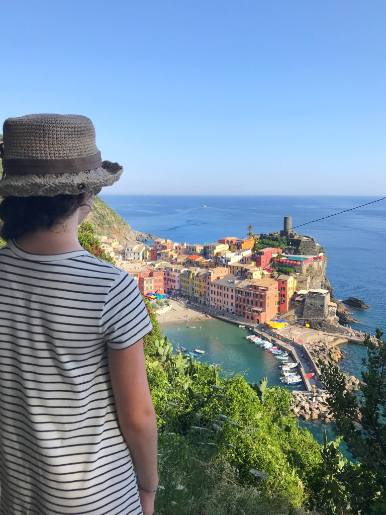 Visiting Cinque Terre for the first time