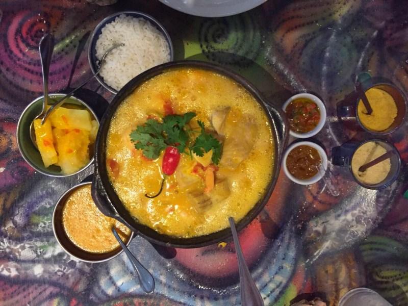 Bahian cuisine - shrimp moqueca