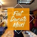 Fiat Ducato Maxi Der Wohnmobil Kastenwagen Als Camper Ausbau