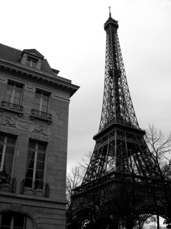 16 Cool Things to Do in Paris - Black and white Eiffel Tower