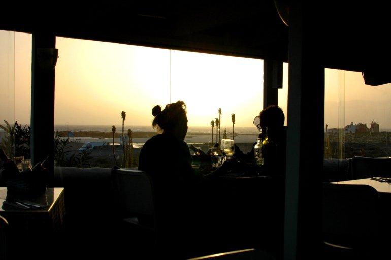 Azzurro Restaurant, El Cotillo, Fuerteventura Travel Guide and Photo Diary