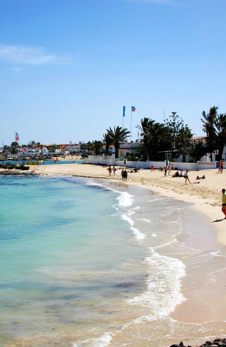 Beach in Corralejo, Fuerteventura