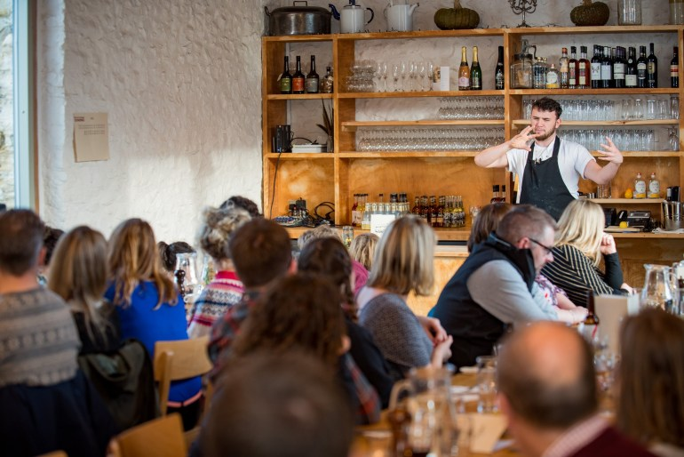 Experiencing a Mid Winter Feast at River Cottage, Devon, England