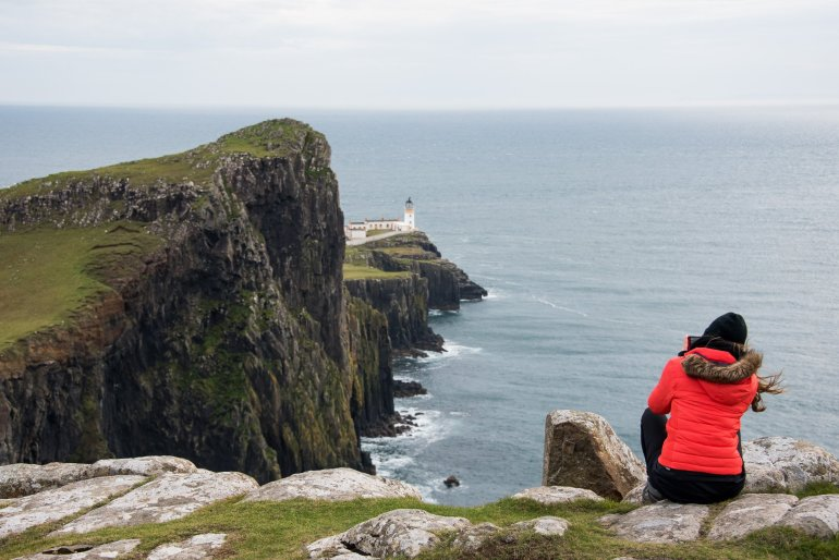Neist Point Lighthouse - 30 Photos of the Isle of Skye to Ignite Your Wanderlust
