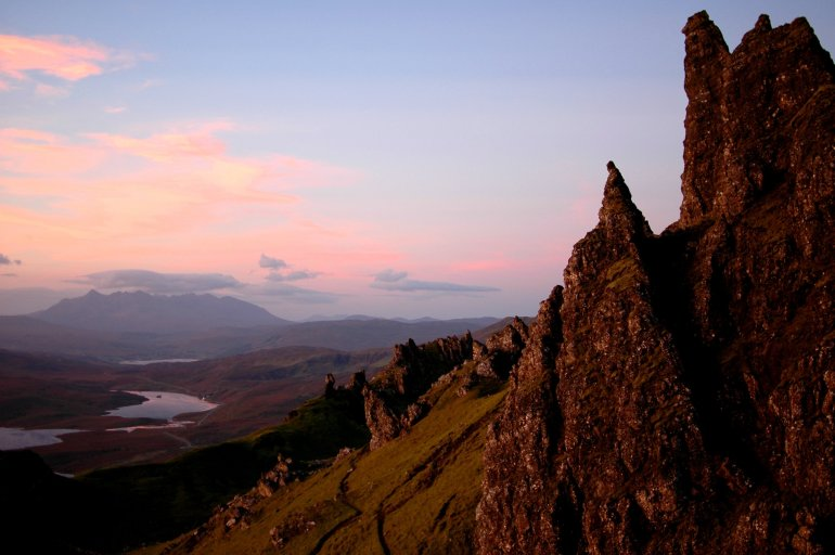 Old Man of Storr Sunrise Isle of Skye - 30 Photos of the Isle of Skye to Ignite Your Wanderlust