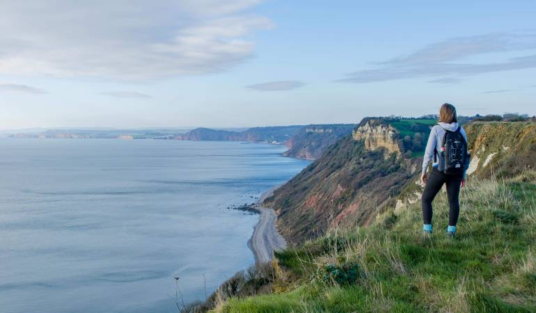 South West Coast Path Branscombe to Sidmouth