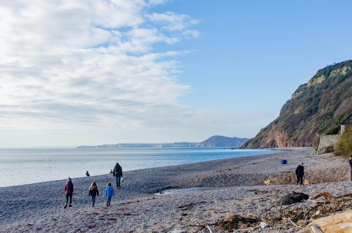 UK Hiking - South West Coast Path Branscombe to Sidmouth