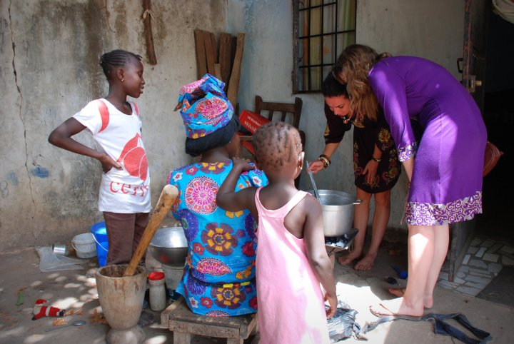 Cooking with locals in the Gambia, West Africa #travel #lessons #lifelessons #gratitude #blessings #wanderlust #selfdevelopment #gambia #africa #travelblogger