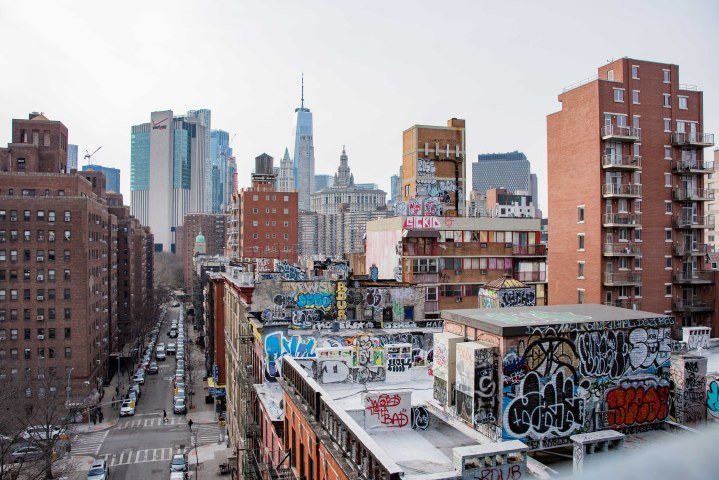 43 Epic Photos of New York City to Inspire You - Downtown Manhattan Graffiti