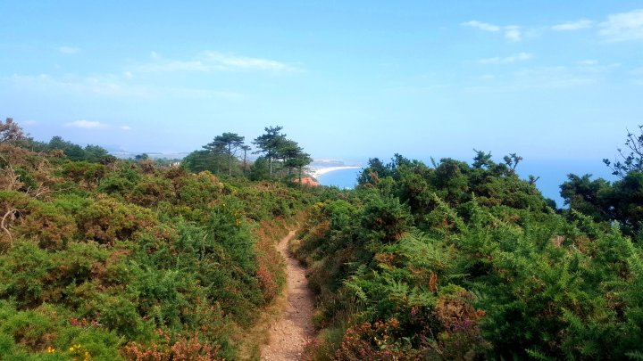 10 Months Hiking on the South West Coast Path, UK - Exmouth to Budleigh Salterton