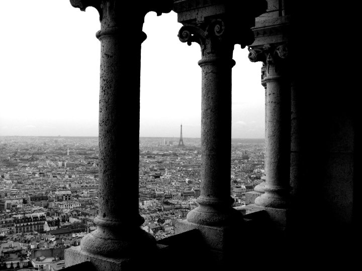View from Sacre Coeur Dome - 10 Things to Do for Free in Paris