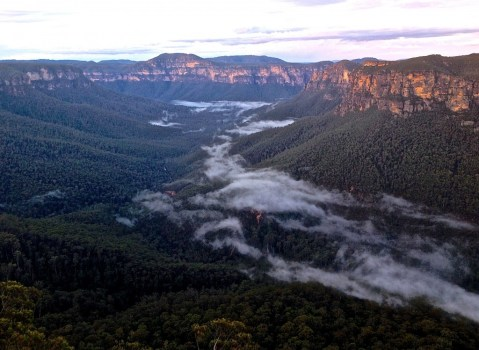 The beautiful Blue Mountains!