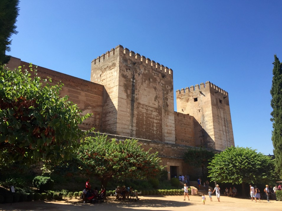 Alcazaba, the walled fortress