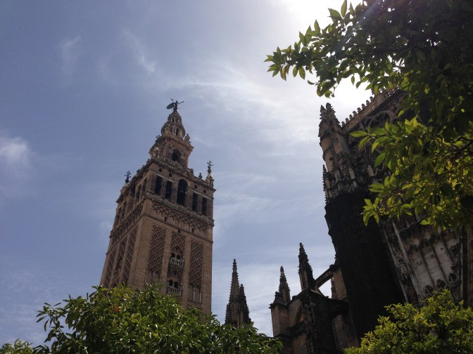 Giralda Tower, attached to the Cathedral