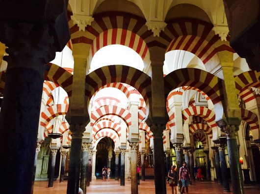 La Mezquita and its iconic arches
