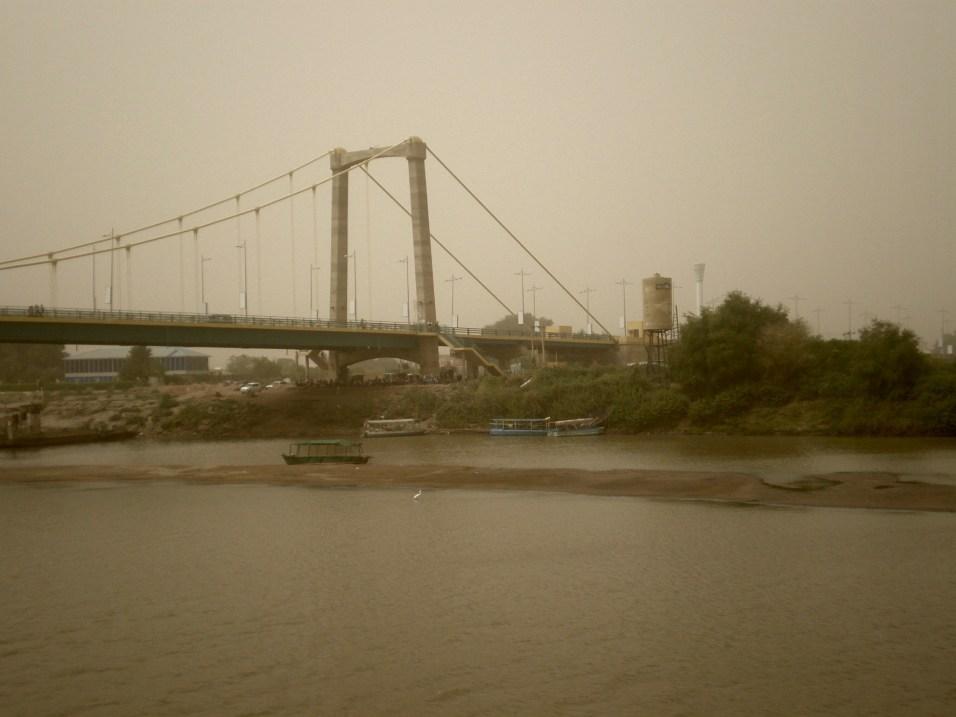 The bridge to Tuti Island