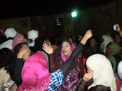 In Khartoum, and around the world, weddings are always a party!