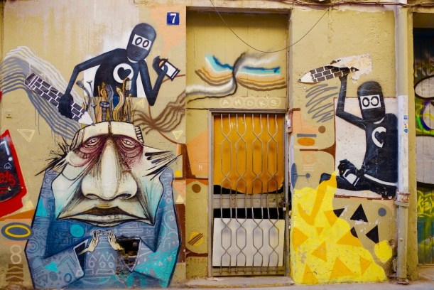 Planning a trip to Valencia, Spain soon? Don't miss out on the street art in Valencia tour with Valencia Urban Adventures! | http://passportandplates.com