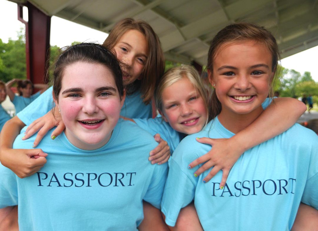 PASSPORTkids! Campers From Church Groups