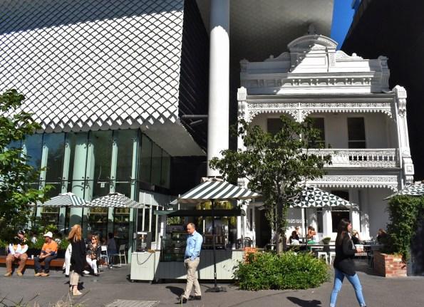 Exterior of Kettle Black in Melbourne