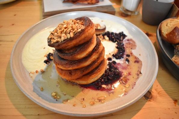 Pancakes at Hallmann and Klee Berlin