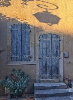 Doors in Lourmarin, Provence