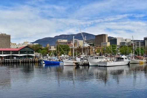 Hobart's wharf