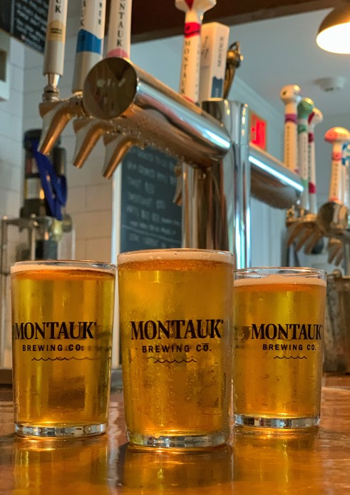 Beer from Montauk Brewing Company, Hamptons