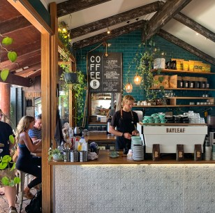 Coffee at Bayleaf, Byron Bay