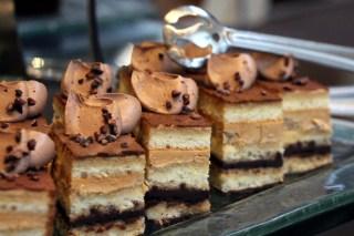 Classic opera cake.