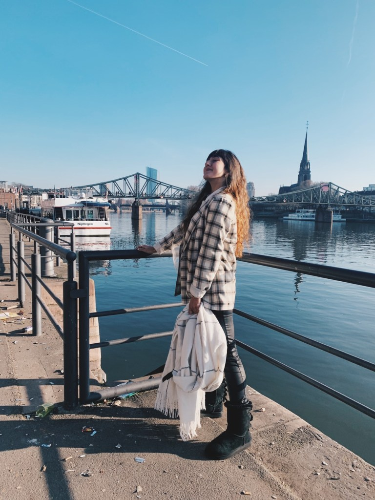 puente hierro frankfurt