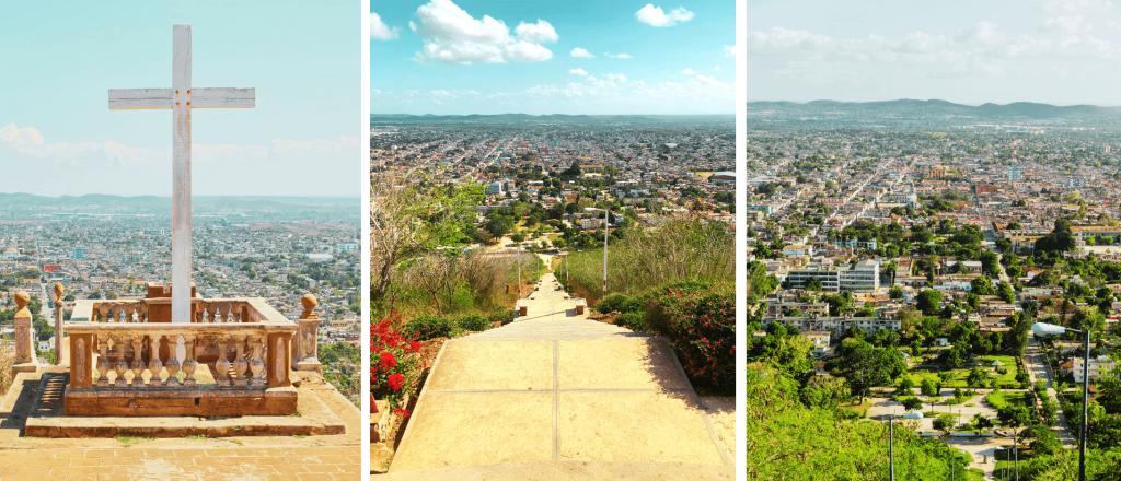 La Loma de La Cruz en Holguin Cuba