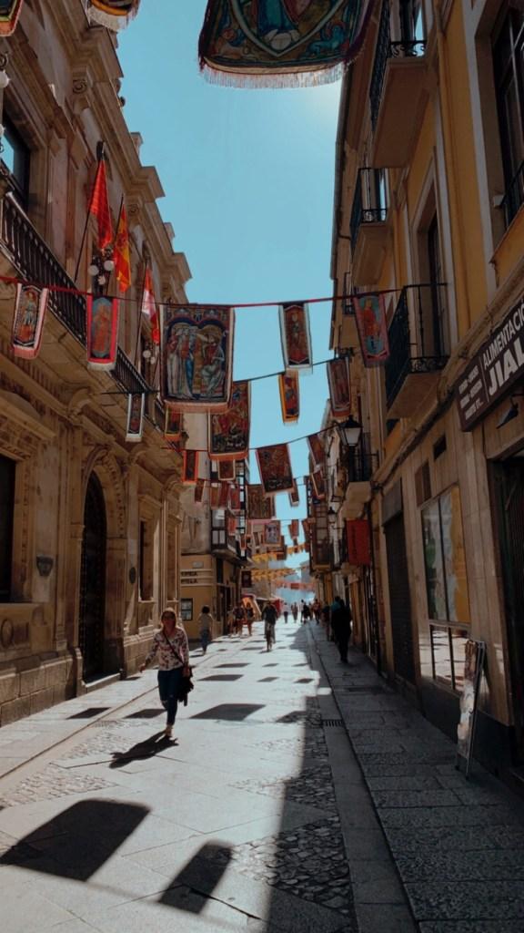 calles en Zamora