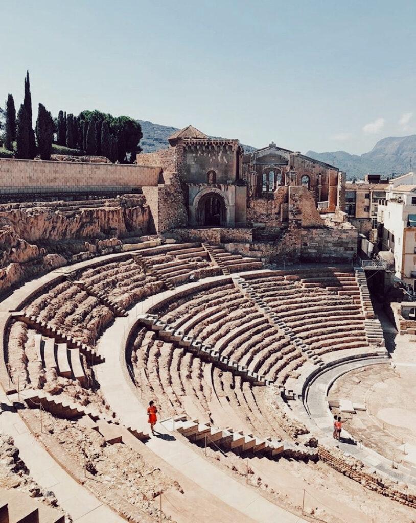 que ver en el teatro romano cartagena españa