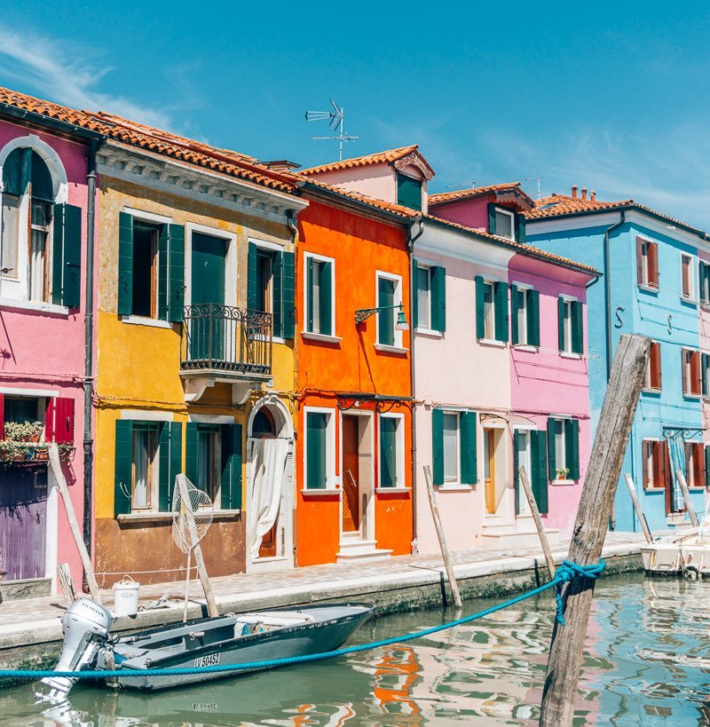 A Day Trip to Burano from Venice