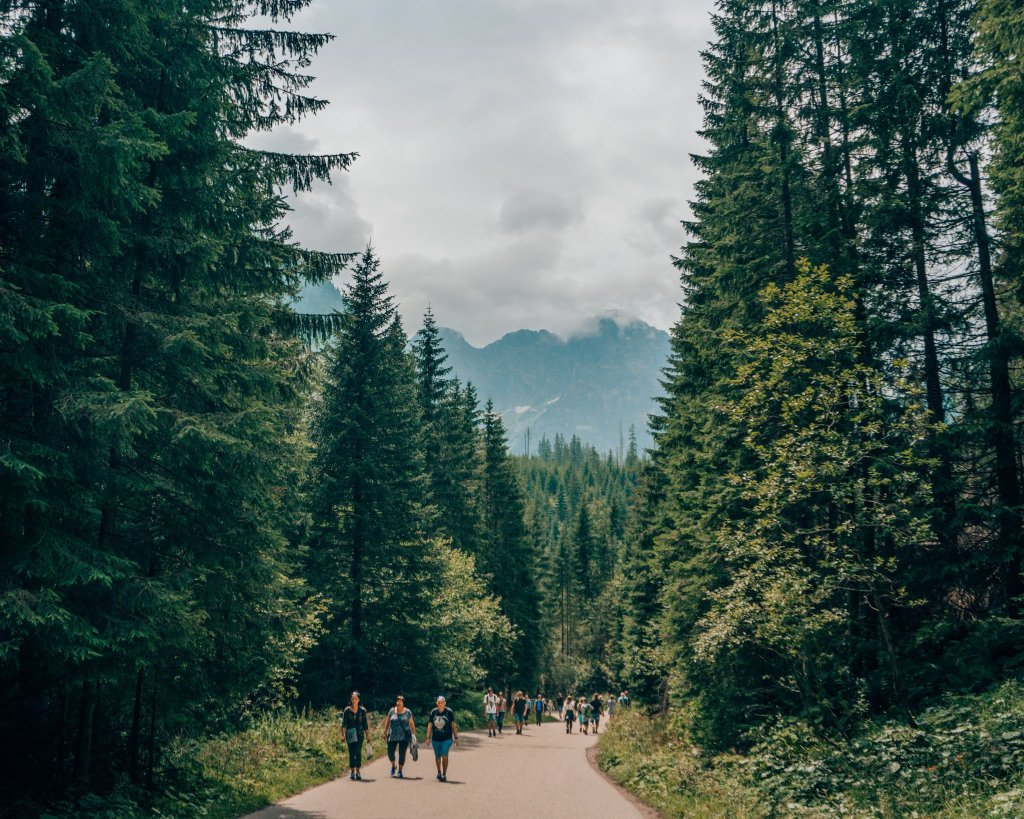 hiking path to morskie oko