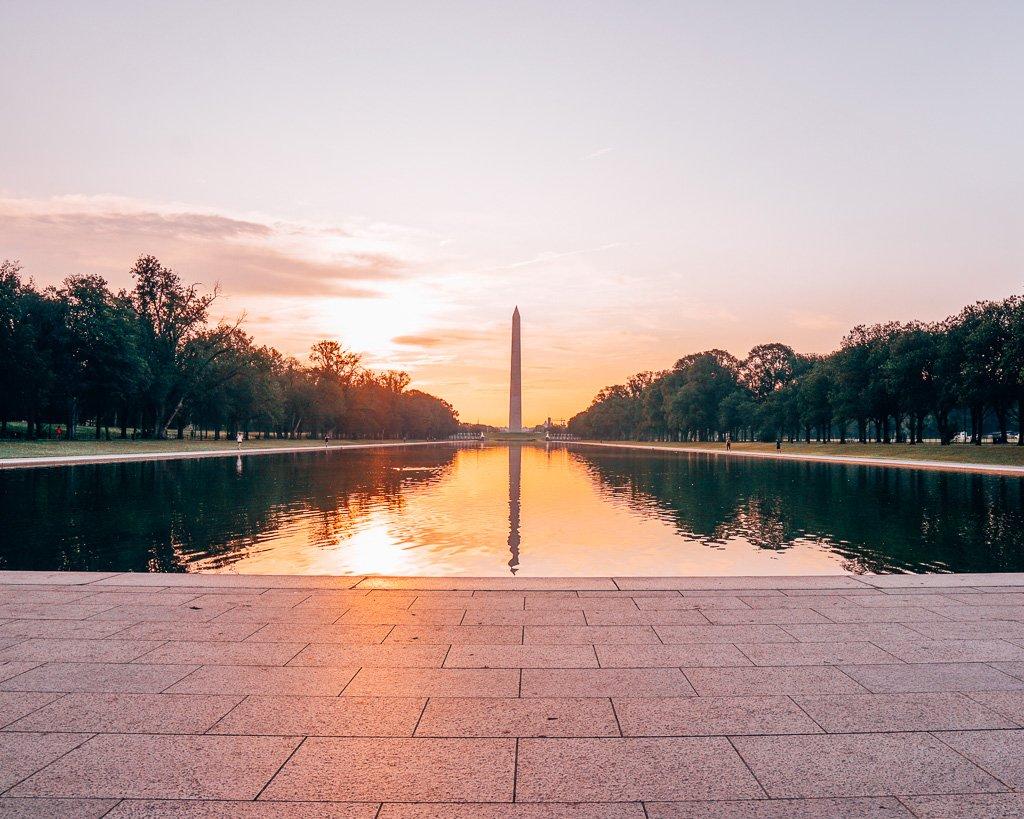 Lincoln Memorial Reflecting Pool, Washington, DC