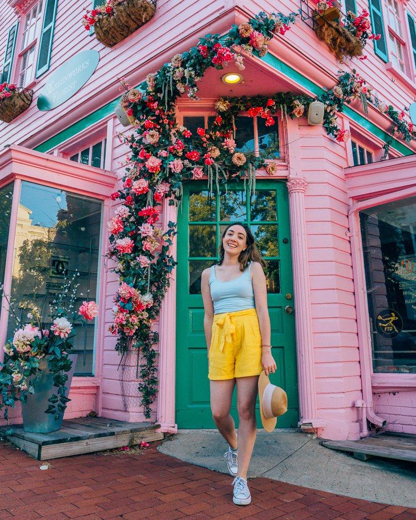 Instagrammable Flower shop in Washington, DC