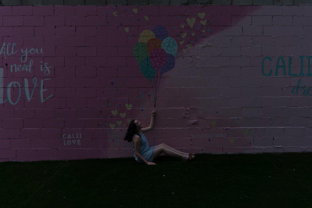Balloon Mural in Toronto