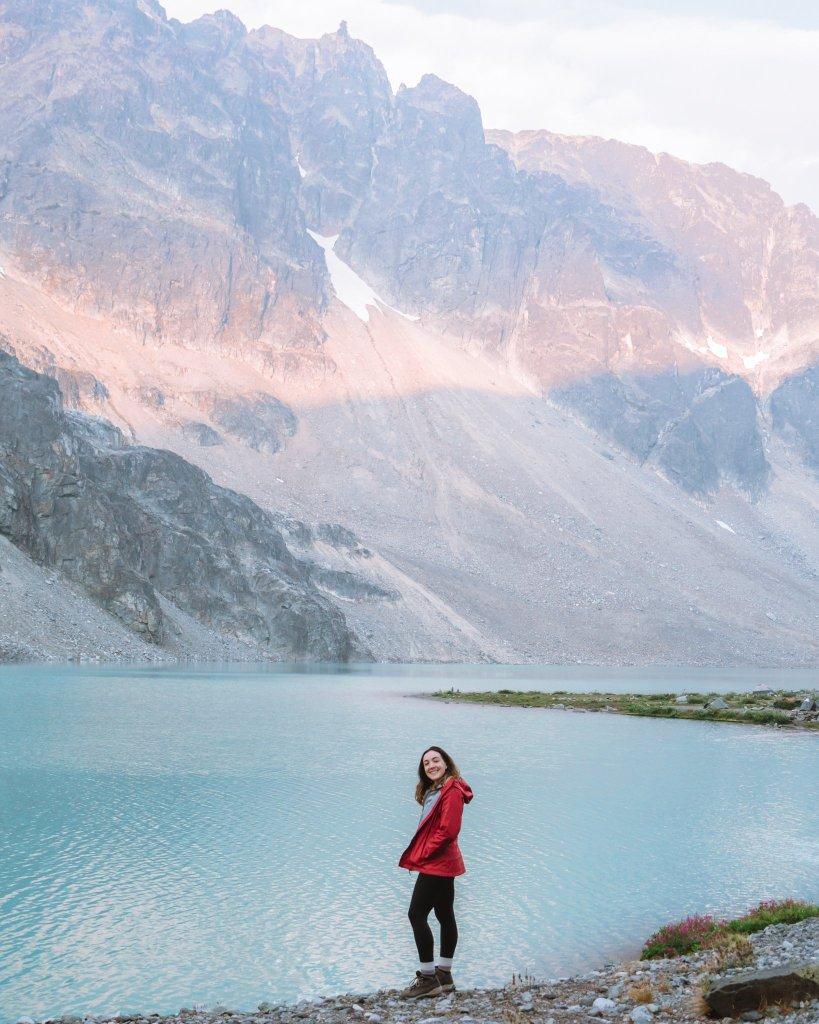 Hike in Whistler - Wedgemount Lake