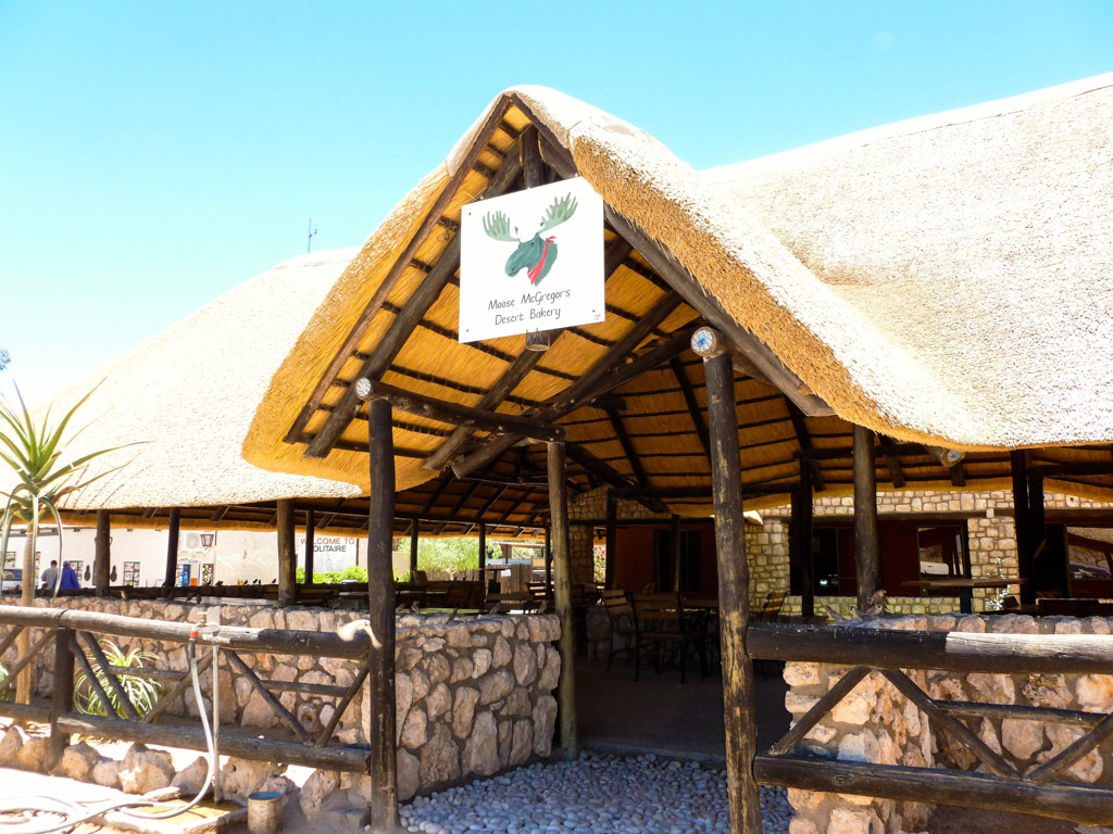 Moose McGregor's Desert Bakery in Solitaire, Namibia