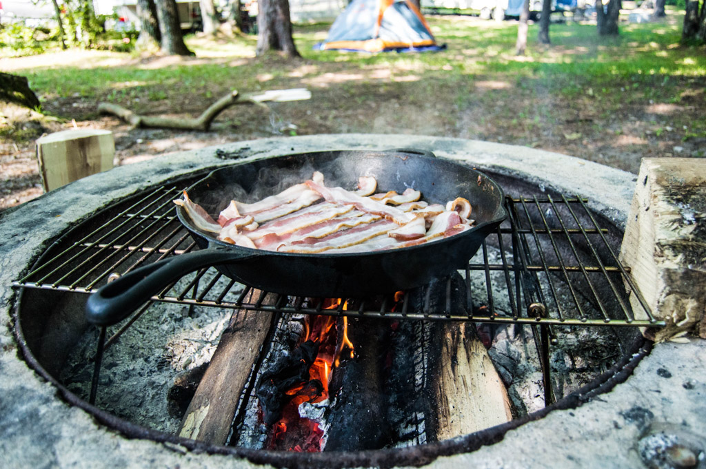 Camping Meal Preparation
