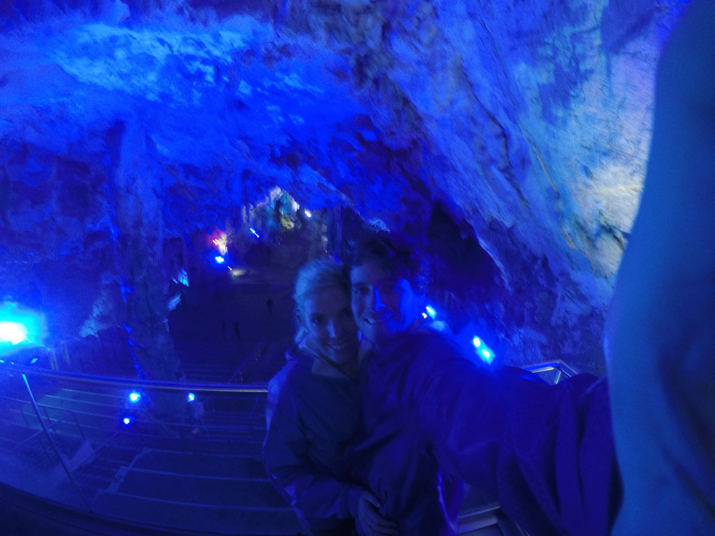 Caves in the Rock of Gibraltar