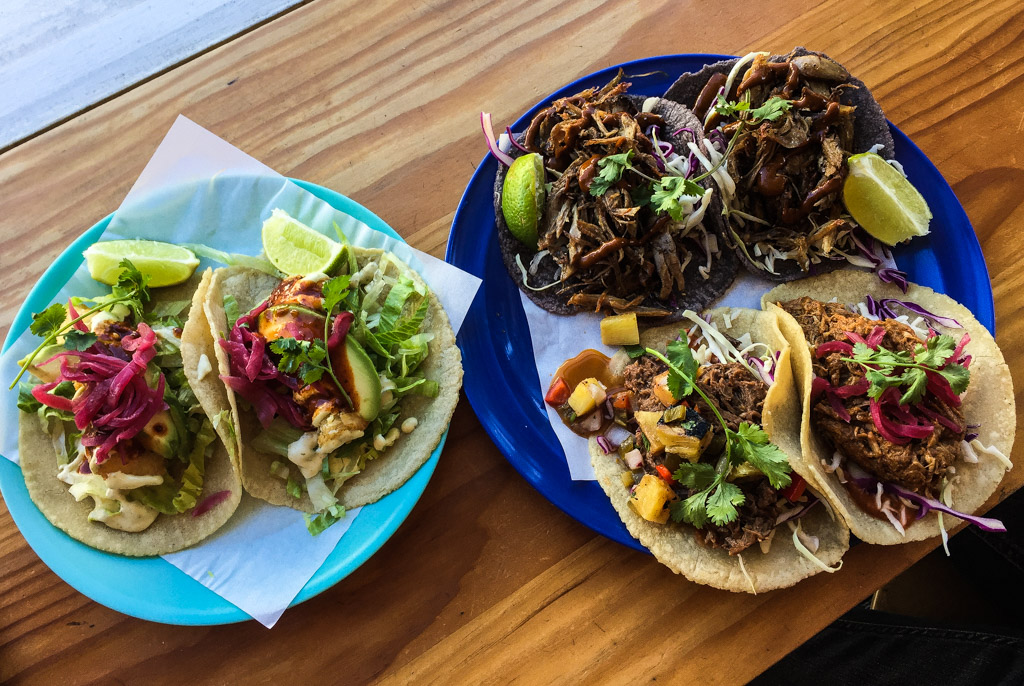 Just as tacos should be, El Burro serves them up family style
