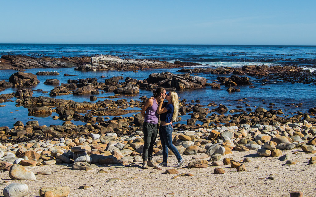 Kisses at The Cape of Good Hope