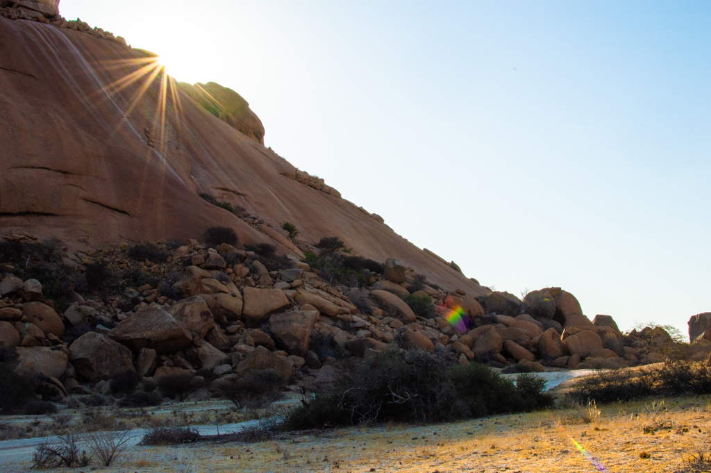 Sunset at Spitzkoppe
