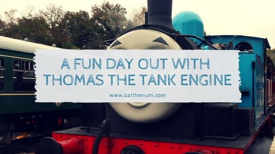 FUN DAY OUT WITH THOMAS THE TANK ENGINE - blog graphic