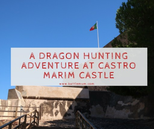 dragon hunting adventure at castro marim - Facebook graphic
