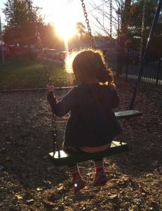 Will You Always Let Me Push You On The Swings?