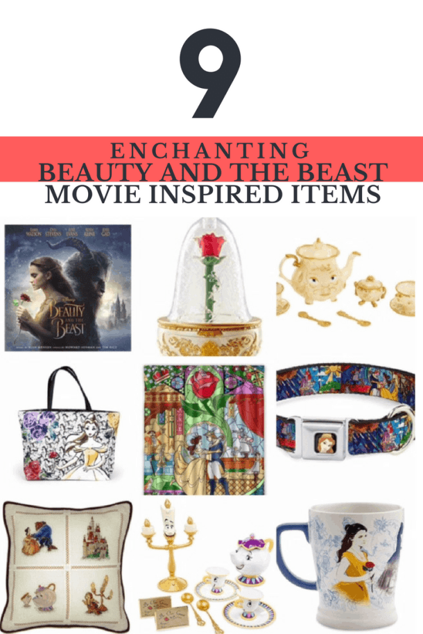 9 Enchanting Beauty and The Beast Movie Inspired Items #BeOurGuest